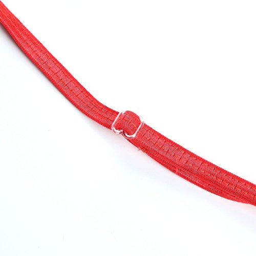 haodasi V-reizvolle transparente Unterwäsche / fashion transparente Spitze Unterwäsche Geräteset Red