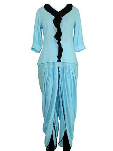 RADANYA Frauen modische Sommerkleidung Tops und Dhoti/Salwar Combo-Set s-5xl -