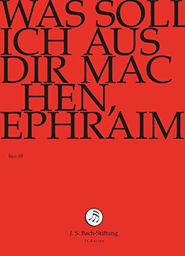 J. S. BACH: Was soll ich aus Dir machen, Ephraim [DVD] Preisvergleich