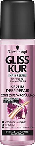 Gliss Kur Deep-Repair Spülung-Spray, 3er Pack (3 x 200 ml)