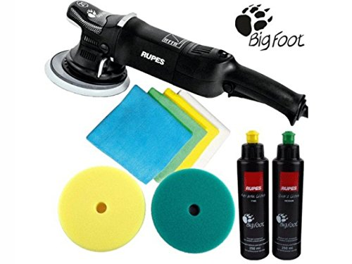 *RUPES Poliermaschine LHR 21 Mark 2 II / 1 Stk. Big Foot Exzenter Polisher im Standard Set*