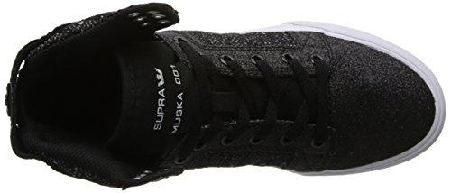 Supra WOMENS SKYTOP Damen Hohe Sneakers Schwarz (BLACK/WHITE - WHITE   BWW)