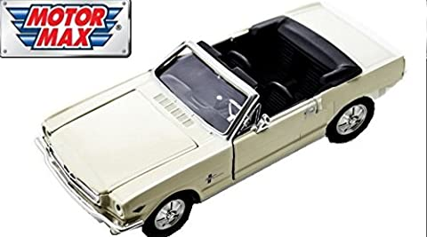 Ford Mustang 1964-½ Convertible in white 1:24 scale model from