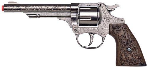 Gonher 80/0 - Revolver Cowboy 8-Schuss 20 cm (Cowboy Gürtel Kostüm Pistole)