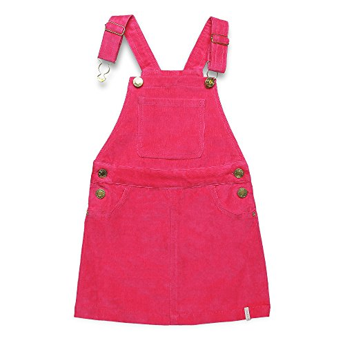 ESPRIT Mädchen Latzhose RK21003, Rosa (Tropical Pink 352), 122
