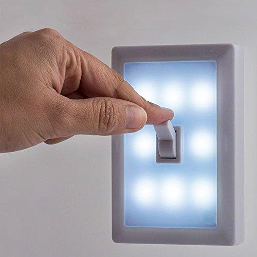 Luz sin cable pared sin instalacion sin cables interruptor. Iluminacion