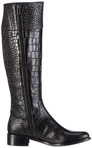Giudecca Jy1513-1, Bottes hautes classiques femme Noir - Noir