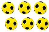 Fußball, aus Schaumstoff, Größe 5 Größe L Six Yellow