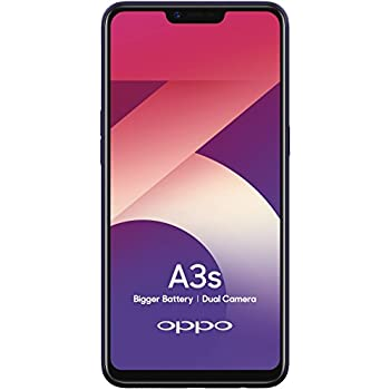 Oppo A3s (Purple, 2GB RAM, 16GB Storage) with No Cost EMI/Additional  Exchange Offers