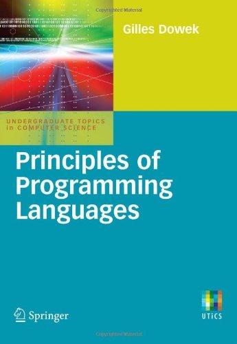 Principles of Programming Langua...