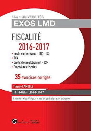 Fiscalité : 35 exercices corrigés par From Gualino Editeur