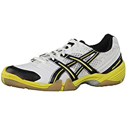 Asics Zapatillas Gel-Domain Blanco / Negro / Amarillo EU 46