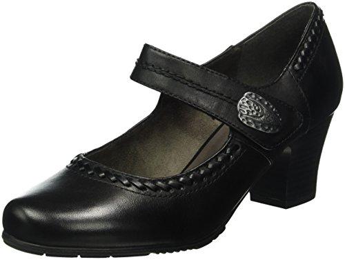 Jana 24301, Escarpins Femme Noir (Black 001)