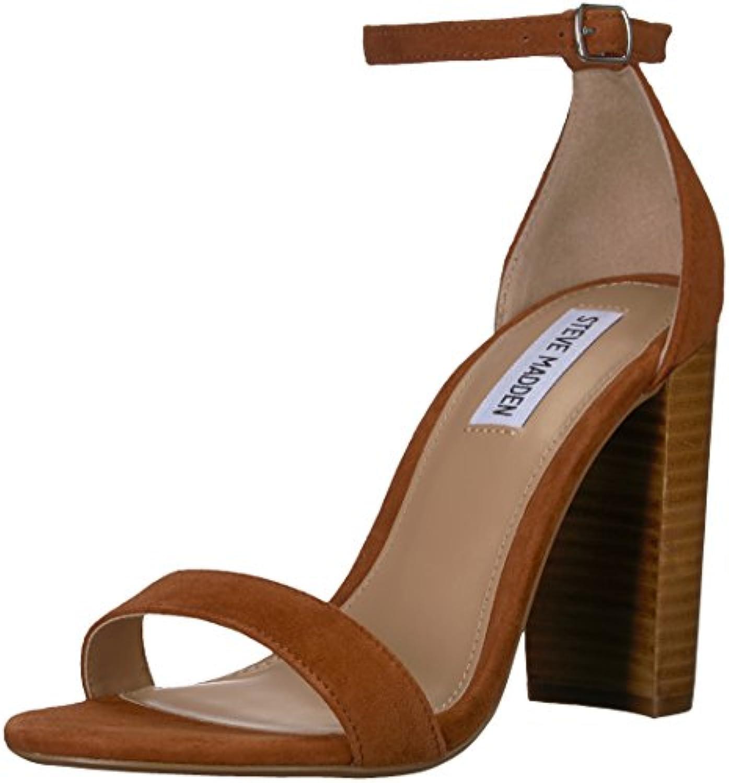 Steve Madden Wouomo Carrson Heeled Sandal, Chestnut Multi, Multi, Multi, 9.5 M US | Exquisite (medio) lavorazione  | Uomini/Donna Scarpa  2eef33