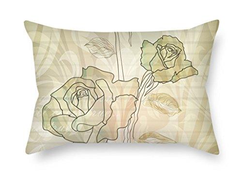 meigi Weihnachten Kissen Of Flower für Play Zimmer Home Office Kaffee House ihn Jungen Pub 45,7x 66cm/45von 65cm (je Seite)