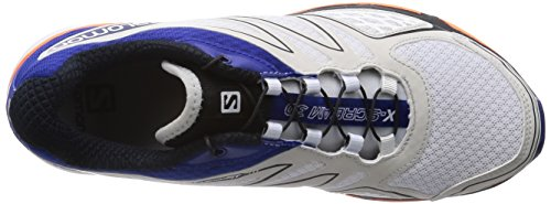 Salomon - X-Scream 3D, Sneakers da uomo bianco (white/g blue/fluo orange)