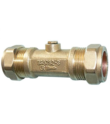 50mm, doppelt mit Ventil–Bronze mit
