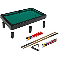 Simba 106167704 Snooker Table - Mesas de Billar (Snooker Table,, plástico, 4 año(s), Niños, Poliéster)