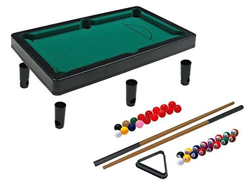 Simba 106167704 - Games & More Pool, Billard und Snooker, Geschicklichkeitsspiel, mehrfarbig