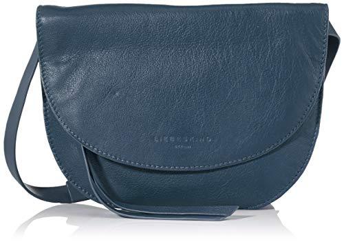 Liebeskind Berlin Damen Dive Bag 2-Clutch Small, Blau (China Blue), 2x21x21 cm