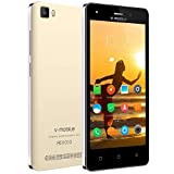Téléphone Portable Débloqué 4G V·mobile A10 (Ecran: 5' IPS HD - Caméras 5.0MP Android 7.0-2800mAh Batterie au Lithium,2...