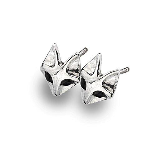 azzaria-fox-orecchini-argento-925-sterling-argento-lunghezza-1-cm-larghezza-1