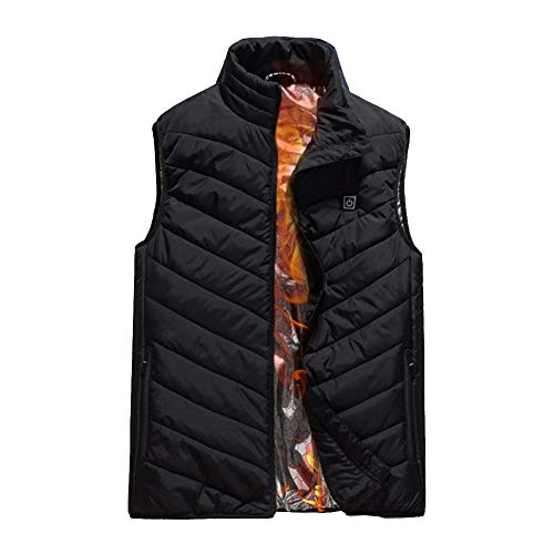 41HRrMDzsOL. SS500  - Electric Heated Vest Temperature Adjustable USB Warm Vest for Outdoor Camping Hiking (No Battery)