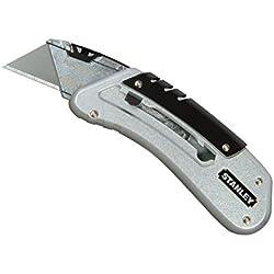 Stanley Quickslide Pocket Knife All-metal with Belt Clip Ref 0-10-810