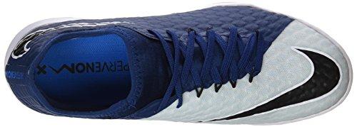 Nike Herren Hypervenomx Finale II IC Fußballschuhe Grau (Photo Blue/black/blue Tint/white/white)