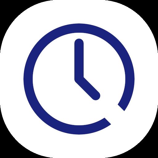 Clock Galaxy Edge -