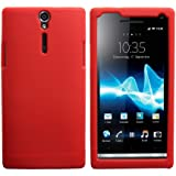 Coque en Silicone Cover Housse Euit pour Sony Xperia S LT26I - Rouge