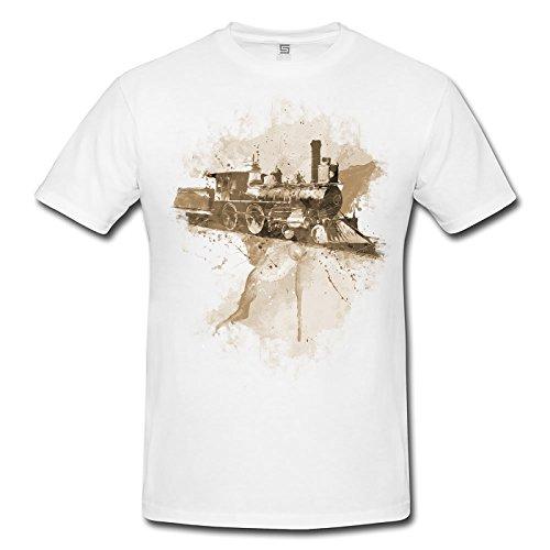 Paul Sinus Art -  T-shirt - Uomo bianco X-Large