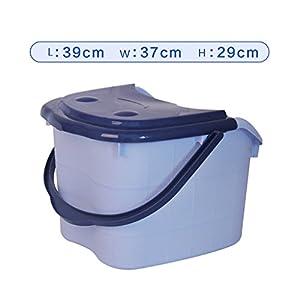 Fußbad, Badfuß aus Kunststoff, Blaues Fußbad, Portables Fußmassagebecken, Fußbad, Fußbad