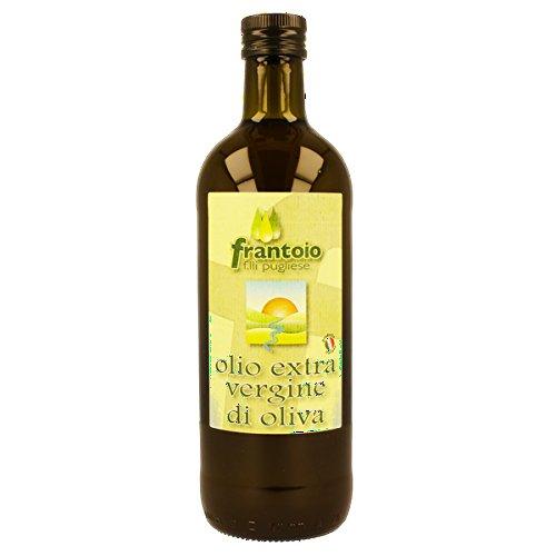 Olio extravergine di oliva italiano calabrese estratto a freddo alta qualità spremitura 2018 1 litro