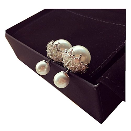 elufly-one-pair-925-sterling-silver-double-sides-pearl-and-crystal-earring-two-ball-stud-earrings-92