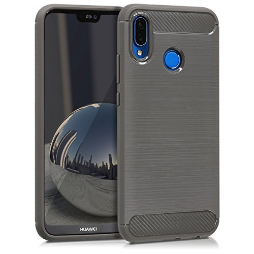 kwmobile Huawei P20 Lite Hülle - Handyhülle für Huawei P20 Lite - Handy Case in Anthrazit