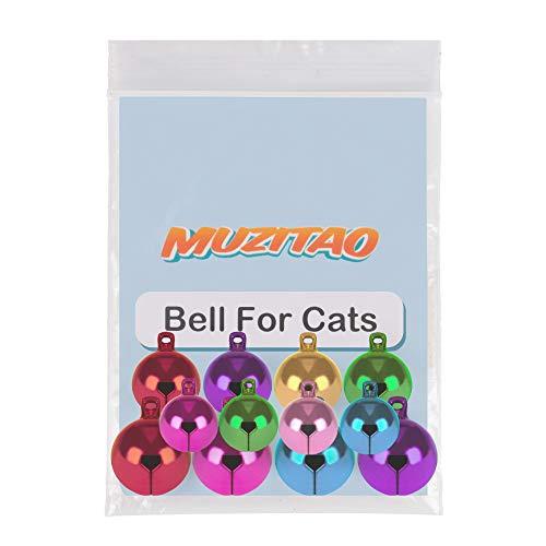 Muzitao – 12 starke & laute Glöckchen für das Katzenhalsband