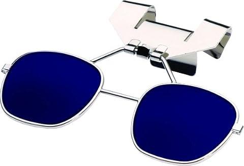 Uvex 32-8LFFB3-0000 880 Series Klip Lifts For Hard Hat Visors, Cobalt Blue Shade 3 by Uvex