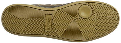 Armani - Sneaker High Cut, Pantofole a Stivaletto Uomo Gelb (Oro)