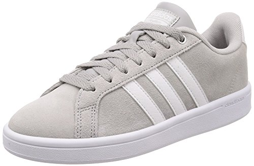 adidas Damen Cloudfoam Advantage Fitnessschuhe, Grau (Grey Two F17/Ftwr White/Matte Silver Grey Two F17/Ftwr White/Matte Silver), 40 EU