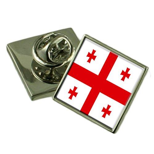 Select Gifts Georgia Flagge Anstecknadel Abzeichen 18mm Wählen Sie Geschenk Tasche Tasche Georgia