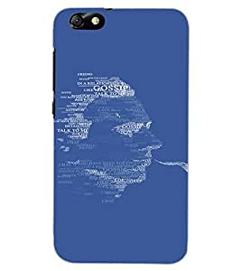 HUAWEI HONOR 4X FACE Back Cover by PRINTSWAG