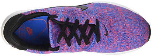 Nike Herren Air Max Modern Flyknit Sneakers Blau (Photo Blue/black/bright Crimson/white)