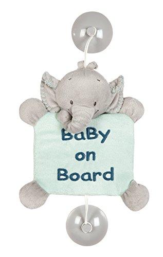 """Nattou 843379 Jack, Jules & Nestor Ventouse """"Bébé à Bord"""", Jack l'éléphant,"""