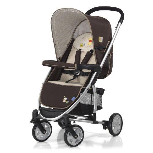 Hauck 140154 Malibu - Silla de paseo con diseño de Winnie the Pooh, color marrón