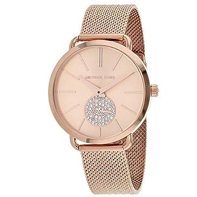 Michael Kors Relojes para Mujer Portia Rose Reloj de Tono Dorado