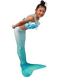 Abyss Mermaid® Colas De Sirena Para Nadar Para Niñacolor Verde talla 6
