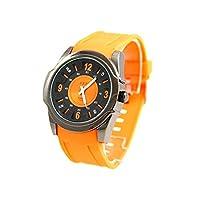 Sbao Homme - Montre Homme Originale Silicone Orange SBAO 2801