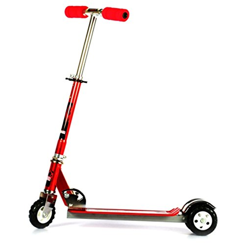 Saffire Kids Scooter with Tractor Wheels Red, Red