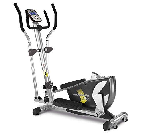 BH Fitness SPAZIO PROGRAM 10002361 elliptique - magnétique - pliable - système d'inertie 14 kg - foulée 40 cm